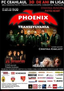 Concert Phoenix la Stadionul Municipal din Piatra-Neamţ