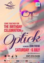 DJ Optick's Birthday Party la Ponton Casa Baraj din Crivaia