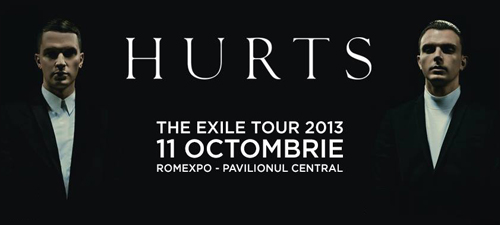 Biletele pentru concertul Hurts de la Bucureşti, disponibile la vânzare