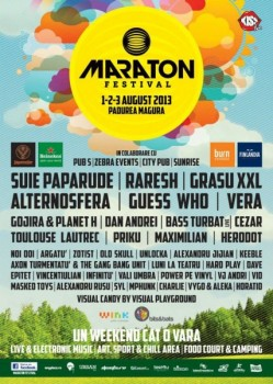 Maraton Festival 2013 în Pădurea Măgura