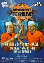 Concert şi lansare album Smokey & Krem în The Stage din Bacău
