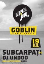 Concert Subcarpaţi şi DJ Undoo în Club Goblin din Vama Veche