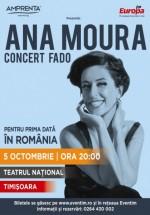 Concert Ana Moura la Teatrul Naţional din Timişoara