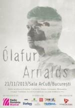 Concert Ólafur Arnalds la Sala ArCub din Bucureşti
