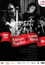 Concert Adrian Naidin şi Ionuţ Micu în J'ai Bistrot din Bucureşti