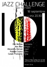 Concert Jazz Challenge în Tête-à-Tête din Bucureşti