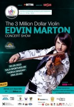 Concert Edvin Marton – The 3 Million Dollar Violin la Cluj-Napoca