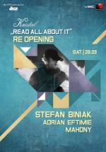 Reopening Party cu Stefan Biniak în Kristal Club din Bucureşti