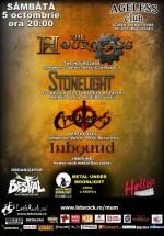 Concerte The Hourglass, StoneLight, Apotheoses şi InBound în Ageless Club din Bucureşti