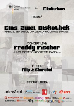 Einz, Zwei, Diskothek – concert Freddy Fischer în Kulturhaus din Bucureşti