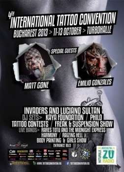 International Tattoo Convention – Bucharest 2013 în Turbohalle