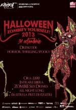 Zombify Yourself Halloween Party în Club Expirat din Bucureşti