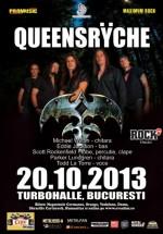 Concert Queensryche în Turbohalle din Bucureşti