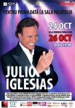 Concerte Julio Iglesias la Sala Palatului din Bucureşti