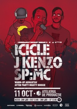 ICICLE, J Kenzo şi Sp:MC în Atelierul de Producţie din Bucureşti