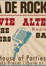 """Viţa de Vie, Alternosfera şi multe alte trupe de """"rock bun"""" cântă la Casa Presei"""