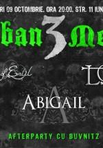 Concerte Abigail, L.O.S.T. şi Armies of Enlil în Club B52 din Bucureşti