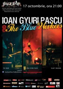 Concert Ioan Gyuri Pascu în Club Puzzle din Bucureşti