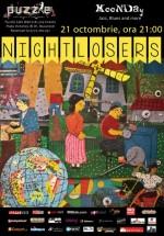 Concert Nightlosers în Club Puzzle din Bucureşti