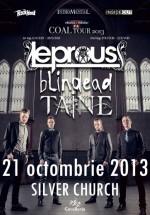 Concert Leprous în The Silver Church din Bucureşti