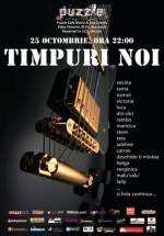 Concert electric Timpuri NOI în Club Puzzle din Bucureşti