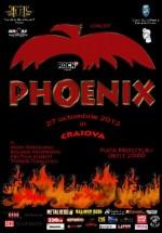 Concert Phoenix în Piaţa Prefecturii din Craiova
