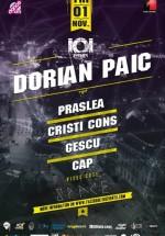 Dorian Paic în Space Club din Bucureşti