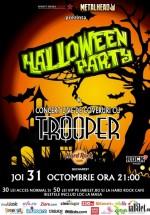 Halloween Party cu Trooper în Hard Rock Cafe din Bucureşti