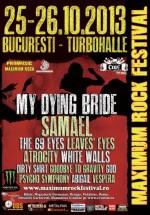 Maximum Rock Festival 2013 la Turbohalle din Bucureşti