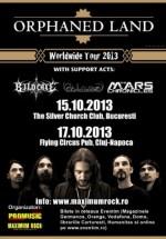 Concerte Orphaned Land la Bucureşti şi Cluj-Napoca