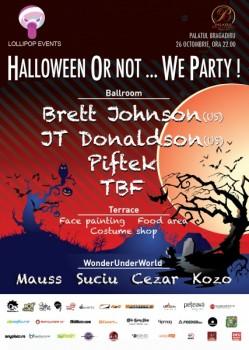 Halloween or not… We party la Palatul Bragadiru din Bucureşti