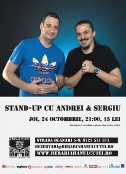 Stand-Up Comedy la Berăria Hanul cu Tei din Bucureşti