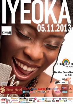 Concert Iyeoka în The Silver Church din Bucureşti