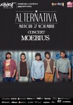 Concert Moebius în Club Expirat din Bucureşti
