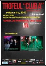 Concerte The Purple Dandies şi Shades of Indigo în Club A din Bucureşti
