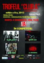 Concerte LongRoad, Kamen, White Ash şi Black Jack în Club A din Bucureşti