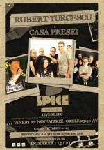 Concert aniversar Robert Turcescu & Casa Presei în Spice Club din Bucureşti