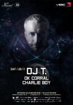 DJ T în Kristal Club din Bucureşti
