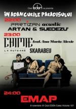 Concerte Partizan şi Chimie în Club Eden din Bucureşti