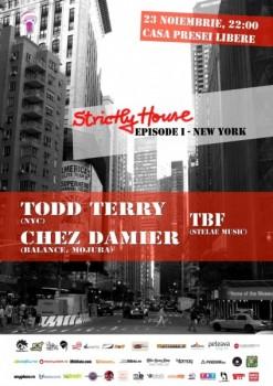 Strictly House Episode 1 – New York la Casa Presei Libere din Bucureşti