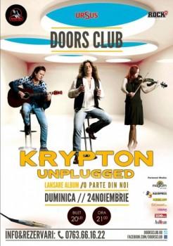 Concert Krypton Unplugged în Club Doors din Constanţa