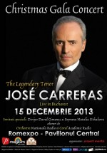 Concert Jose Carreras la Romexpo în Bucureşti