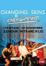 Concert Changing Skins în Panic! Club din Bucureşti