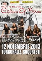 Concert Children of Bodom la Turbohalle din Bucureşti