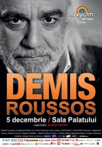 Concert de Crăciun cu Demis Roussos la Sala Palatului din Bucureşti