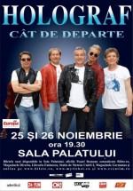 """Concert Holograf """"Cât de departe"""" la Sala Palatului din Bucureşti"""