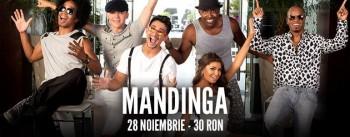 Concert Mandinga în Club Tribute din Bucureşti