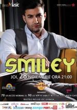 Concert Smiley în Hard Rock Cafe din Bucureşti