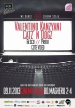 Valentino Kanzyani şi Catz'N Dogz la Cinema Scala din Bucureşti