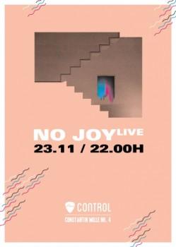 Concert No Joy în Control Club din Bucureşti
